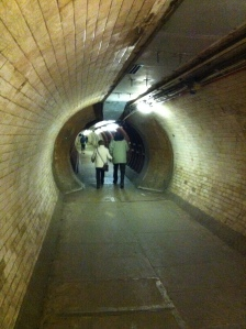 The tunnel under the Thames